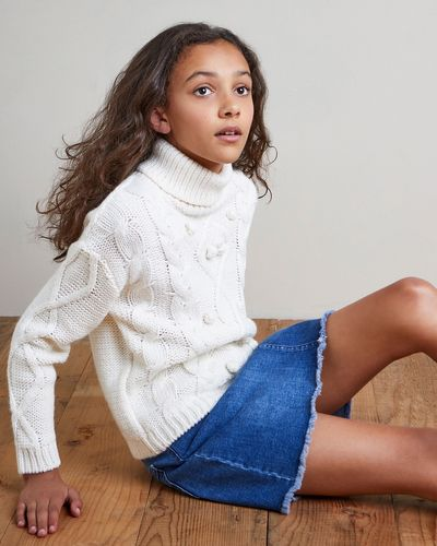Girls Denim Skirt (7-14 years)