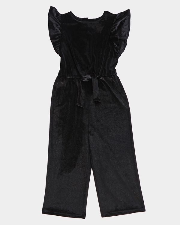 Girls Velour Jumpsuit (7-14 years)