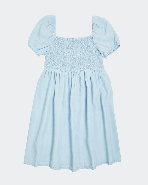 Girls Denim Smock Dress (7-14 years)
