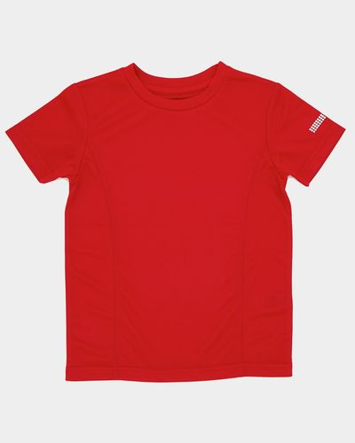 Boys Plain Poly T-Shirt (4-14 years)