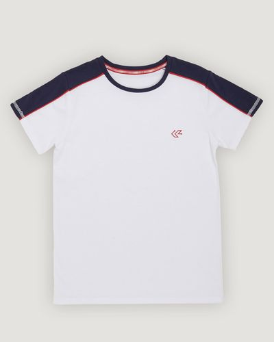 Boys Sportif Panel T-Shirt (4-14 years)