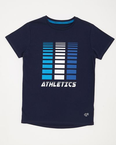 Boys Sportif Print T-Shirt (4-14 years)