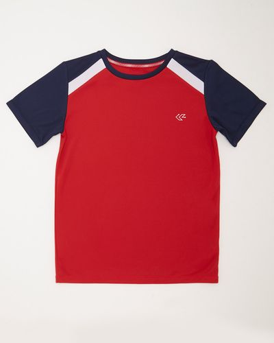 Boys Sportif Poly T-Shirt (4-14 years)