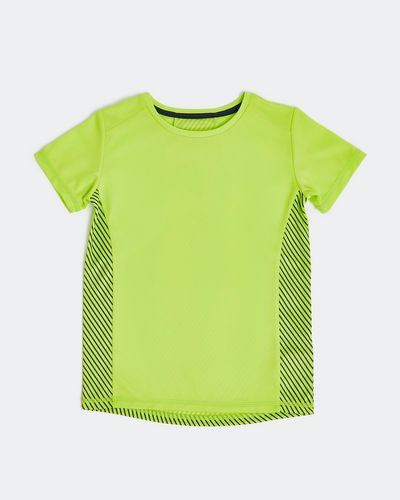 Boys Panel Poly T-Shirt (4-14 years)