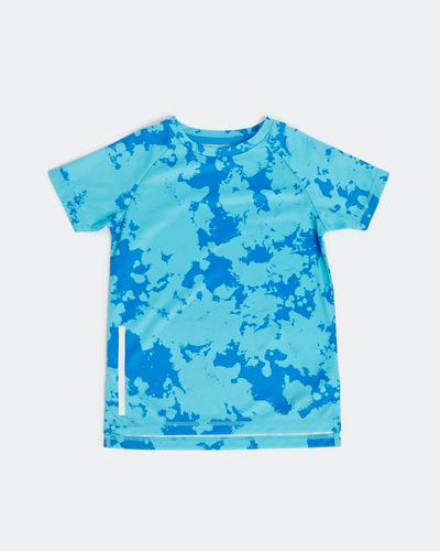 Boys All-Over Print Poly T-Shirt (4-14 years)