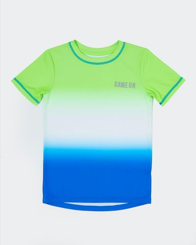Boys Ombre Poly T-Shirt (4-14 years)