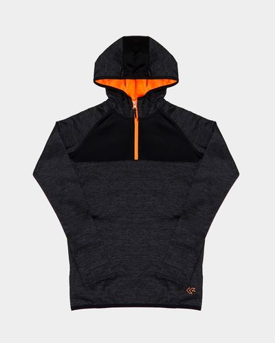 Boys Hooded Half Zip Top (4-14 years)