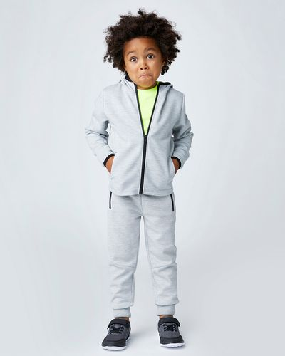 Boys Zip Detail Hoodie (4-14 years) thumbnail