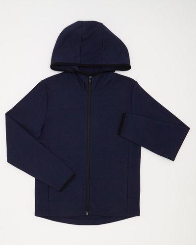 Boys Zip Detail Hoodie (4-14 years) thumbnail