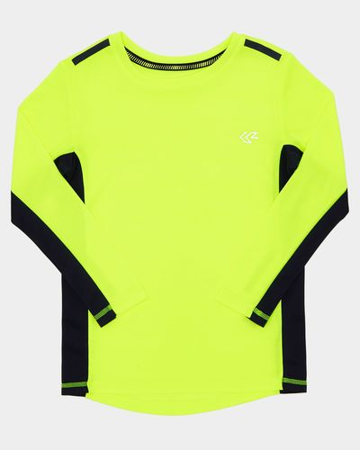 Boys Goals Long-Sleeved Poly Top (4-14 years)
