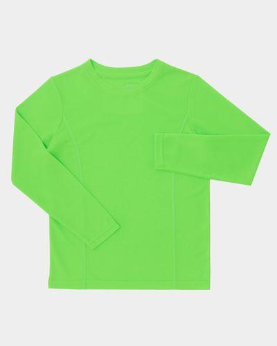 Boys Long-Sleeved Plain Poly Top (3-14 years) thumbnail