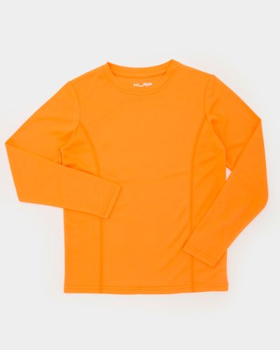 Boys Long-Sleeved Plain Poly Top (3-14 years)
