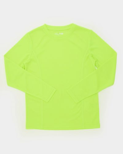 Boys Long-Sleeved Plain Poly Top (4-14 years) thumbnail