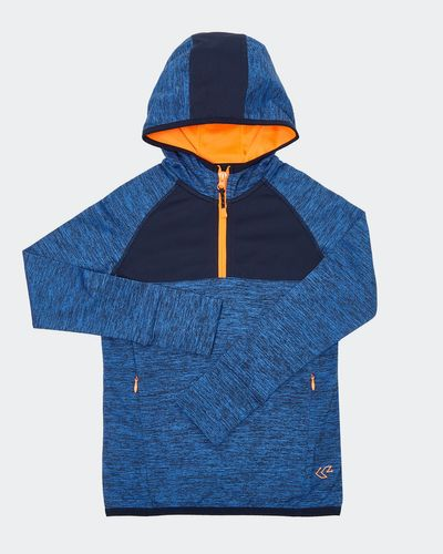 Boys Hood Half Zip Top (4-14 years) thumbnail