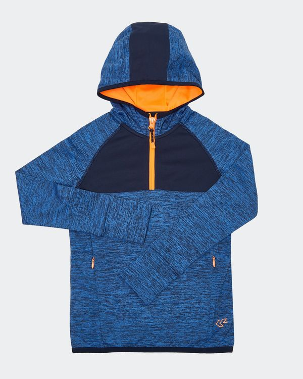Boys Hood Half Zip Top (4-14 years)