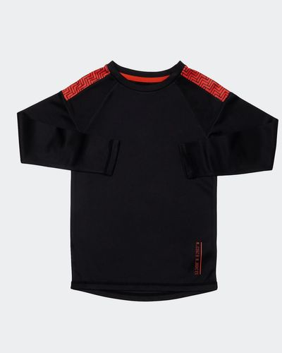 Boys Long-Sleeved Poly Top (4-14 years) thumbnail