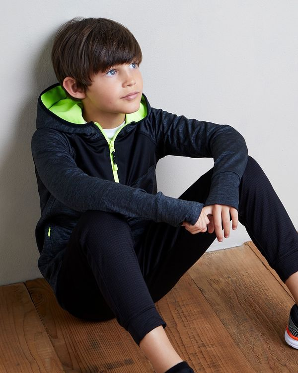Boys Jacquard Jogpants (4-14 years)
