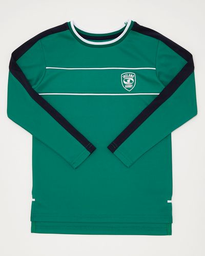 Rugby Long-Sleeve Poly Top (4-14 years)