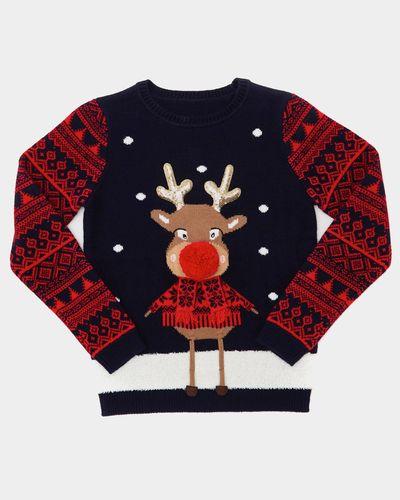 Christmas Family Reindeer Jumper (9 months-14 years)