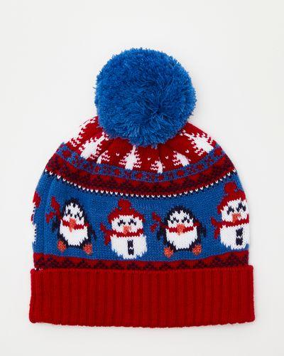 Christmas Family Penguin Hat
