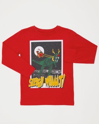 Boys Sleigh What T-Shirt (3-10 years)