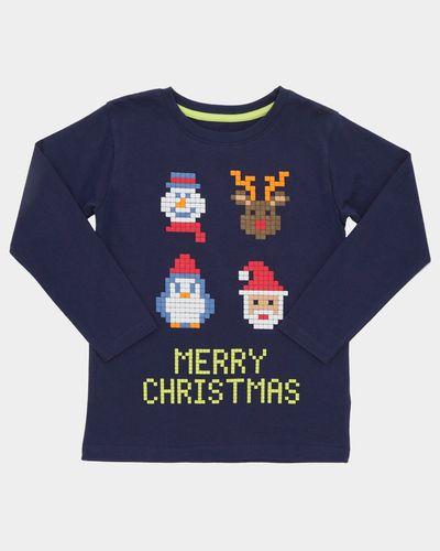 Pixel Christmas Top (3-14 years)