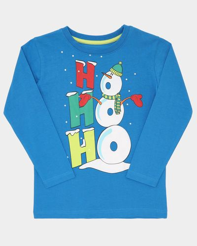 Snowman Long-Sleeved T-Shirt (3-10 years)