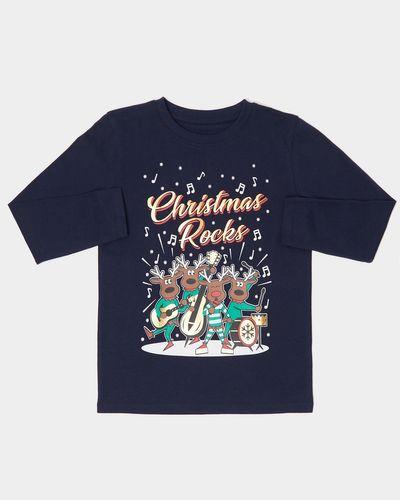 Boys Reindeer Band Long-Sleeved Top (2 - 14 years)