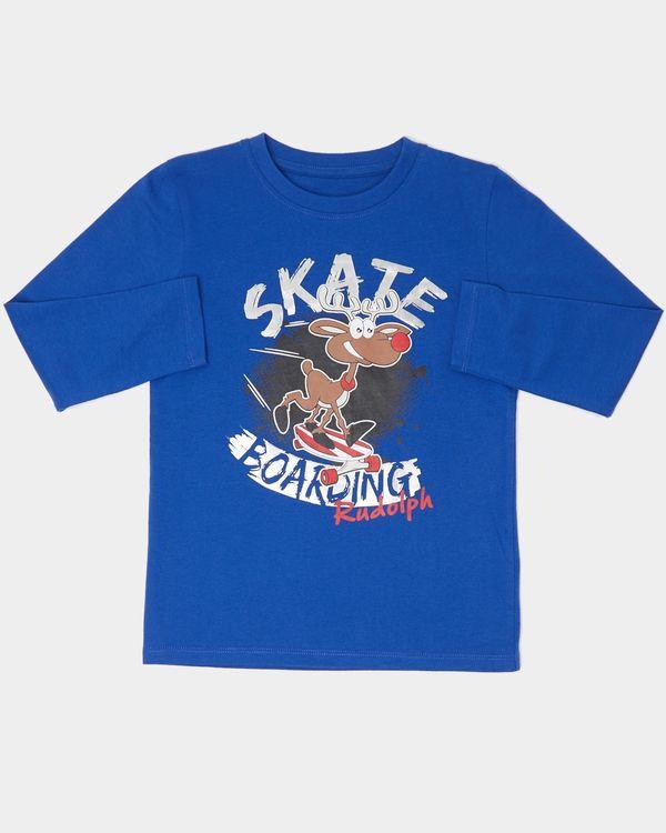 Boys Reindeer Skate Top (2-14 years)