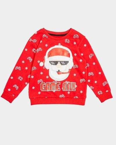 Santa Sweatshirt (4-14 years)