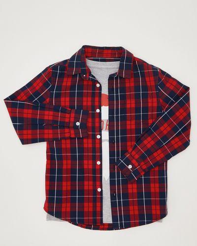 Boys Christmas Shirt And T-Shirt (3-13 years)