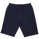 navy Boys Fleece Shorts