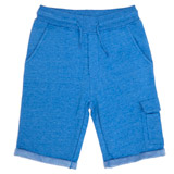 blue Boys Cargo Fleece Shorts