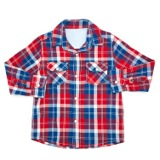 red Younger Boys Oxford Shirt