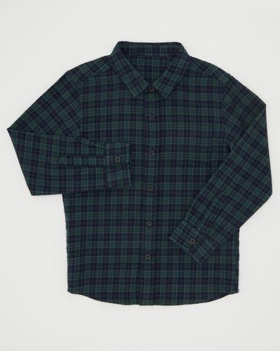 Boys Long-Sleeved Check Shirt (3-13 years)