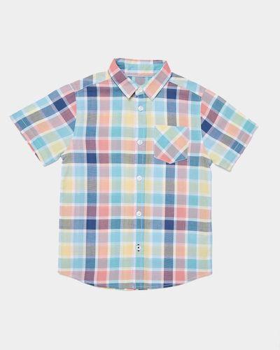 Boys Short-Sleeved Check Shirt (3-13 years) thumbnail