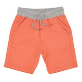 coral Boys Pull Up Shorts