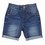 denim Boys Comfort Waist Denim Shorts