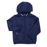 navy Younger Boys Rain Jacket Bomber