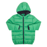 green Younger Boys Padded Jacket