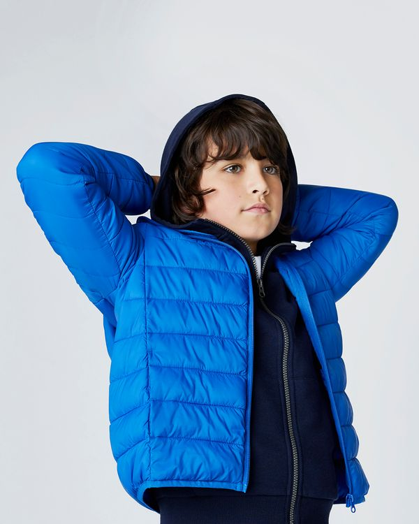 Boys Hooded Superlight Jacket (3-14 years)