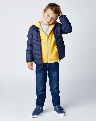 Boys Funnel-Neck Superlight Jacket (3-14 years) thumbnail