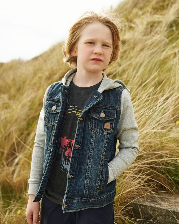 Jersey Denim Jacket (4-12 years)