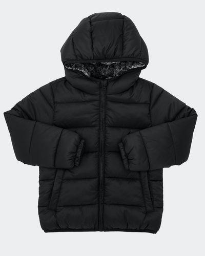 Boys Faux Fur Padded Jacket (2-14 Years)