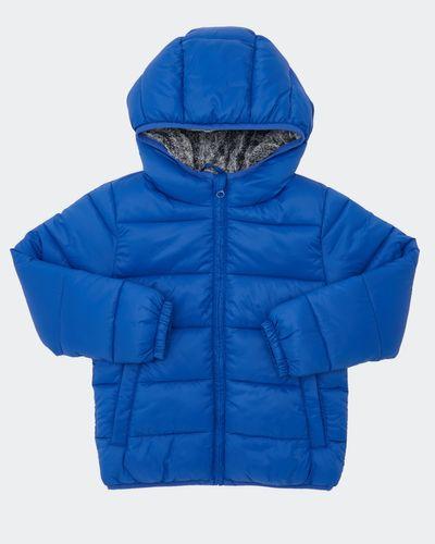 Boys Faux Fur Padded Jacket (2-14 years) thumbnail
