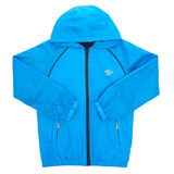 blue Older Boys Lightweight Rain Jacket
