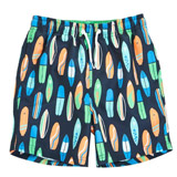 green Younger Boys Swim Shorts
