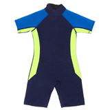 blue Younger Boys Wetsuit