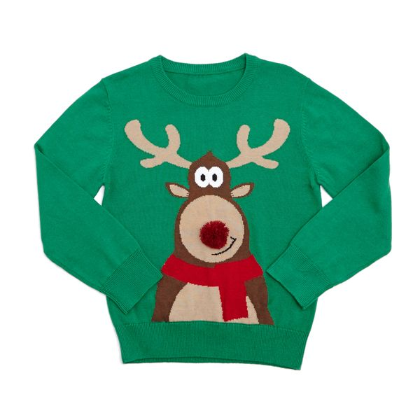 Younger Boys Christmas Jumper
