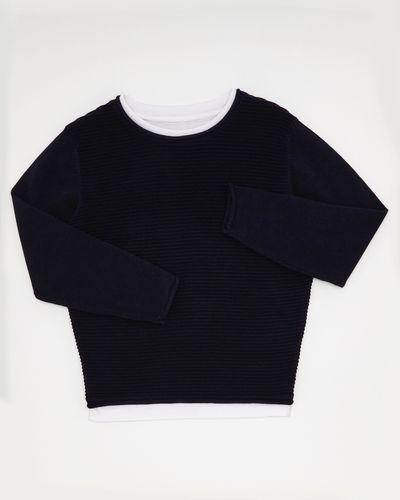 Boys Mock T-Shirt Jumper (3-13 years)